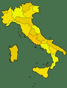 Italien Grundriß