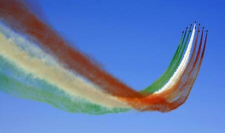 Frecce tricolori - Festa della Repubblica