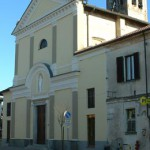 Die Pfarrkirche der heligen Jungfrau Maria